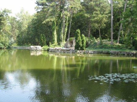 Один из многочисленных водоемов заповедника